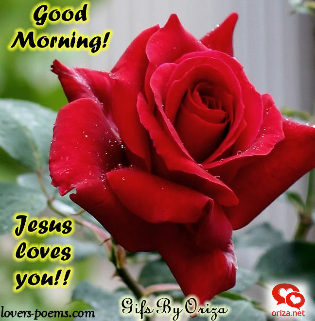 Good morning with Jesus